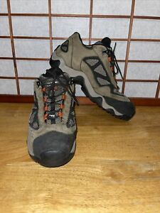Timberland Work Boots Steel Toe Brown Leather Men's Size 10.5W