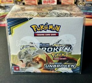 Pokemon Booster Box Protector Plastic Display 1pc Clear Protective Case $9.99