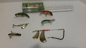 Lot of Vintage Salmon Fishing Lures