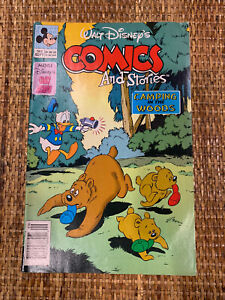 Walt Disney's Comics And Stories Camping In The Woods Number 563 Comic Book