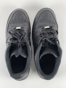 NIKE AIR FORCE 1 Black TWO RIGHT SHOES Size 12 315122 001 AF1 $24.99