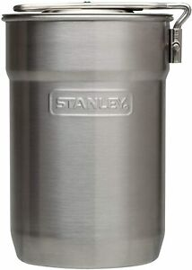 Stanley Adventure Camp Cook Set 24Oz Kettle With 2 Plastic Cups Stainless St