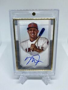 2017 Topps Transcendent Auto MIKE TROUT Gold Framed Silver Parallel 25 $1449.99