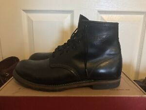 RED WING Men's Black Leather HERITAGE BECKMAN 6 Inch Boot Size 10.5