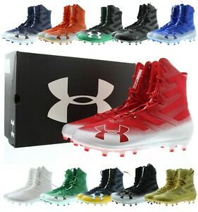 Under Armour Football Cleats Highlight MC Mens Athletic Cleat 3000177 $29.99