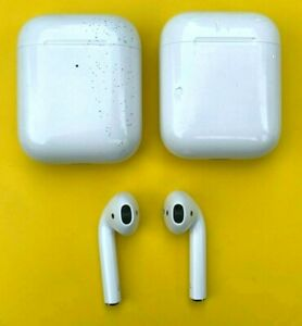 Apple AirPod 2nd Generation Replacements Left Side Right Side or Charge Case $43.99