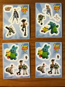 Disney Pixar Toy Story 4 4 stickers choose from list with multi buy