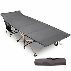 REDCAMP Folding Camping Cots for Adults Heavy Duty 28quot; Wide Sturdy Portable S...
