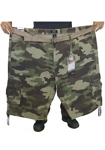 BIG MENS CARGO SHORTS WITH MULTIPLE POCKETS 44 62 FREE SHIPPING