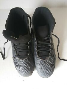 Under Armour Shoes Boys Size 4.5 Y Sneakers Gray Logo $5.44