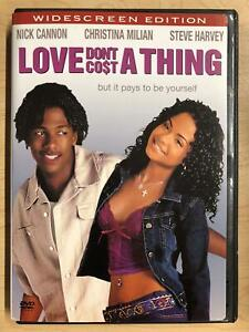 Love Dont Cost a Thing DVD Widescreen 2003 G1122 $1.25