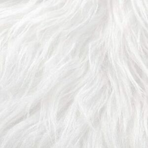 8 Pieces Faux Fur Square Fabric 10 Inch Shaggy Patches Cuts Chair Cover Seat Pad $22.11