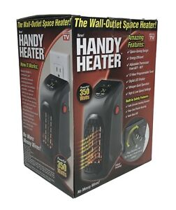 Handy Heater Plug in Personal Heater Compact Design Quick and Easy Heat $13.75