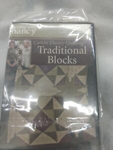 Sewing With Nancy Cotton Theory Quilting Traditional Blocks DVD $12.99