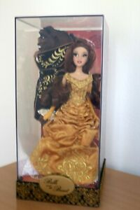Disney Fairytale Designer Collection Belle and The Beast Dolls LE 6000 RARE NEW $350.00