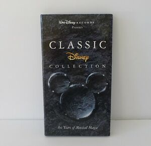 Classic Disney Collection 60 Years Of Musical Magic 4 CD Set Includes Lyric Book $28.00