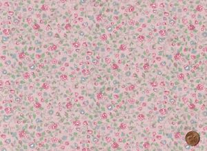 100% Quilting Sewing Cotton Fabric Multiple Color Floral Calico Print BTY $11.25