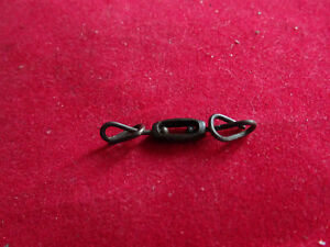 A RARE VINTAGE SHEPHERDS CROOK PATTERN BOX SWIVEL FOR ANTIQUE LURES