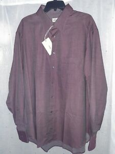 SALE 800$ BRIONI MENS SPORT SHIRT LONG SLEEVE SZ: 3XL MADE IN ITALY $220.00