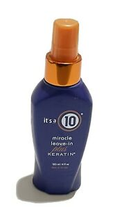 Its a 10 by ITS A 10 Miracle Leave in Plus Keratin 4oz All Hair Unisex 4OZ $13.99