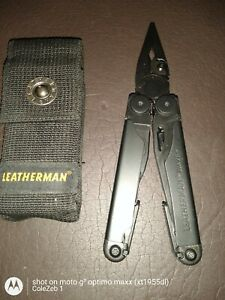 LEATHERMAN WAVE PLUS BLACK OXIDE Multi Tool w Nylon Sheath