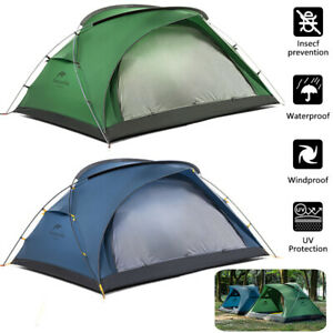 Ultralight Camping Tents 2 Person Free Mat Anti UV Waterproof Double Layer