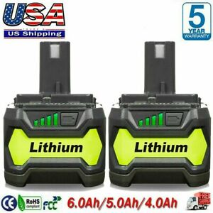 6.0Ah For RYOBI P108 18V 18 Volt One Plus High Capacity Lithium ion Battery NEW