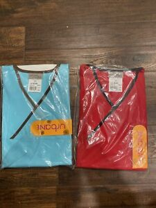 urbane scrubs Lot Of 2 New Size Small Tops Only