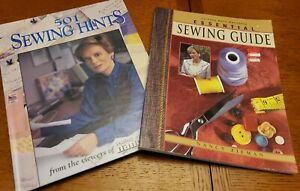 Sewing with Nancy LOT: Essential Sewing Guide AND 501 Sewing Hints $15.00