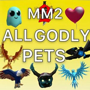 MM2 Roblox ALL GODLY PETS FAST AND CHEAP Read Desc