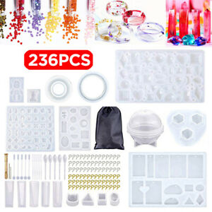DIY Silicone Resin Casting Mold Jewelry Pendant Mould Epoxy Craft Making Tool $14.99