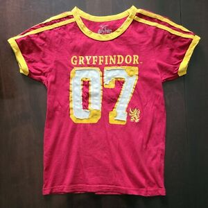 Universal Studios Harry Potter Gryffindor Quidditch Jersey T Youth S $7.99