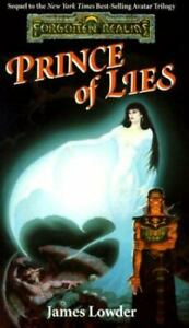 The Finder#x27;s Stone Ser.: Prince of Lies by James Lowder 1993 Mass Market $4.00