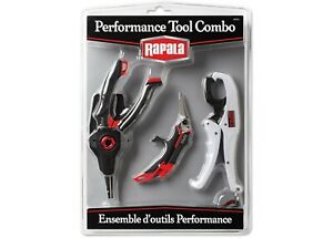 Rapala RPRTC Performance Tool Combo Pack Pliers Scissors Gripper NEW