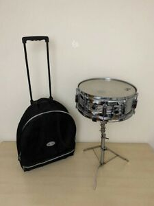 Vic Firth Snare Drum Vintage Ludwig Stand Carrying Case BUNDLE $249.00