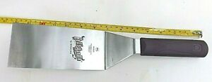 Mercer Culinary Hell#x27;s Handle Square Edge Spatula 6quot;X3quot; M18320 $8.99