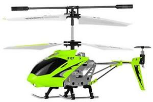 Syma S107G 3 Channel RC Radio Remote Control Helicopter with Gyro Green