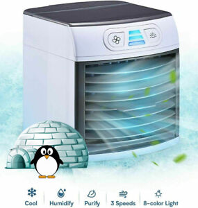 Home Innovations Breezy Cooler Portable Fan Mini Air Conditioner $29.99
