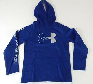 Under Armour Boys Youth Armour Fleece Branded Hoodie Large