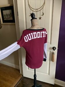 Harry Potter Quidditch Jersey Sweater Women's Extra Small $28.00