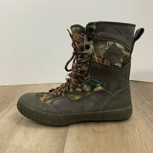 Guide Gear Waterproof Boots Shoes Quiet Sneaker Camoflauge Hunting Size 8.5
