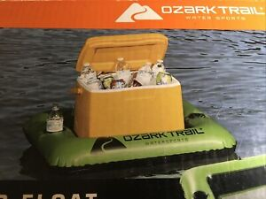 Cooler Float Ozark Trail Water Sports 28qt River Lake Swimming Pool Holds 2 Cups