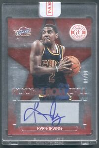 2012 Kyrie Irving Panini Rookie Auto Autograph #d to 79 Still Sealed Nets $400.00