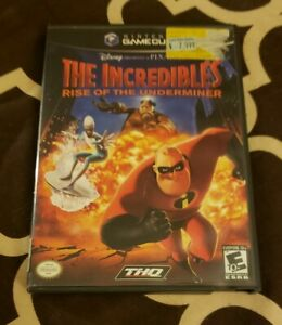 The Incredibles ; Rise of the Underminer Disney Nintendo Game Cube Game $7.95
