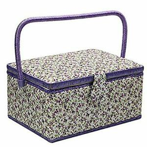 Large Sewing Basket with Accessories Sewing Organizer Box for Sewing Supplies... $48.38