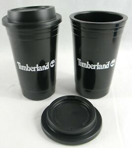 Timberland Reusable Coffee Cup 200ml Plastic Travel Cola Coffee Cups with Lid