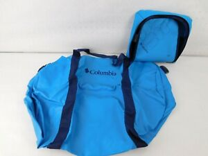 Columbia Dry Bag Blue Waterproof Duffle Rubber Small Camping Gift Compact