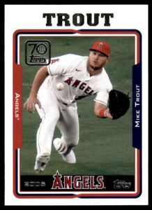 2021 Topps Series 2 70 Years of #70YT 55 Mike Trout Angels