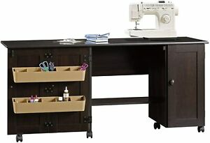Sauder Craft and Mobile Sewing Cart in Cinnamon Cherry 411615 $139.99