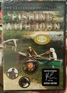 FISHING WITH JOHN 1992 DVD CRITERION COLLECTION #42 BRAND NEW OOP RARE JARMUSCH